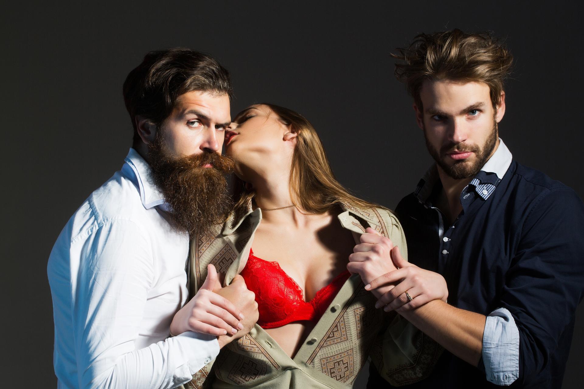 My threesome story
