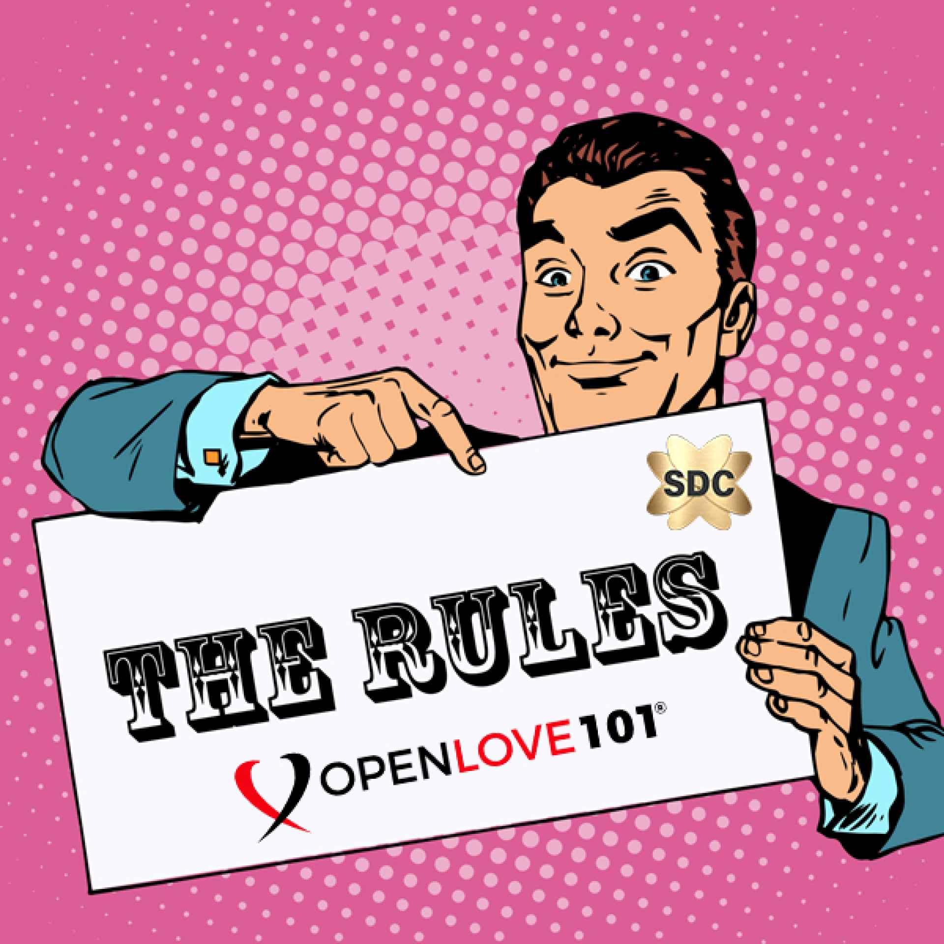Regels voor Openlove 101 SDC Newbie Lifestyle Club Guide