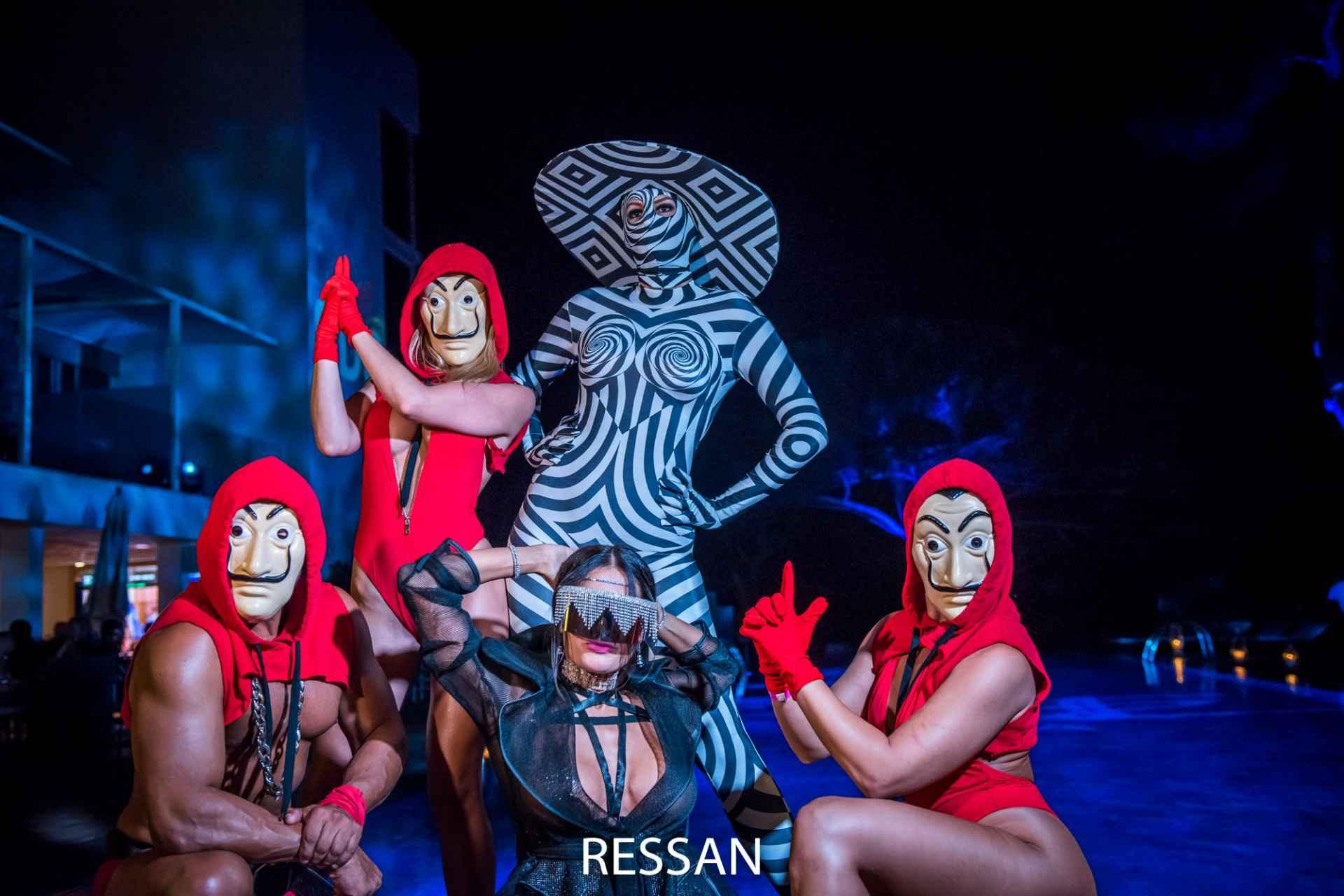 SDC Ibiza Ressan Incognito Night Swingers Resort Theme Party