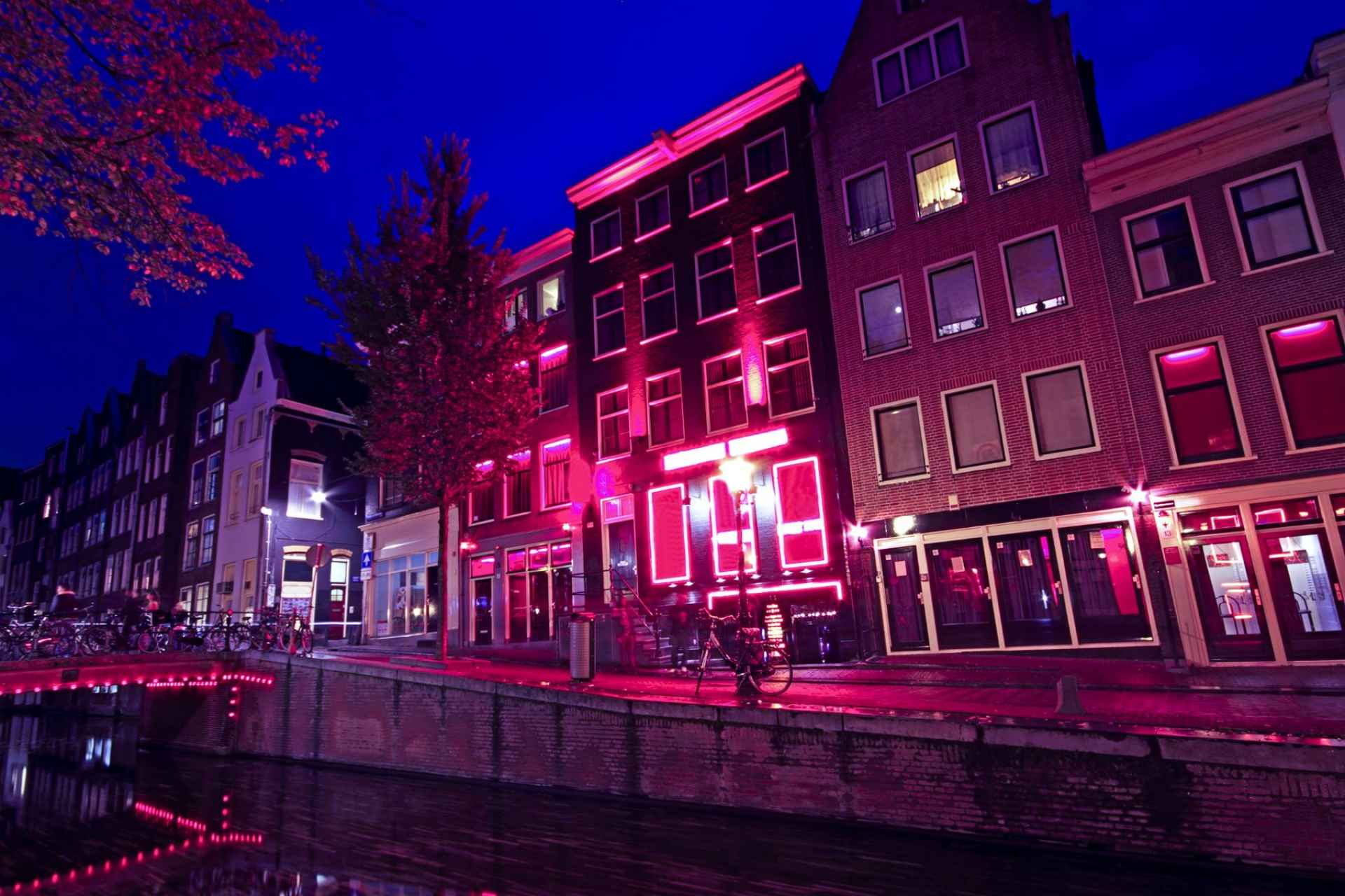 SDC Red Light Districts Amsterdam Sekswerk Adult Entertainment Industrie Reisbestemmingen