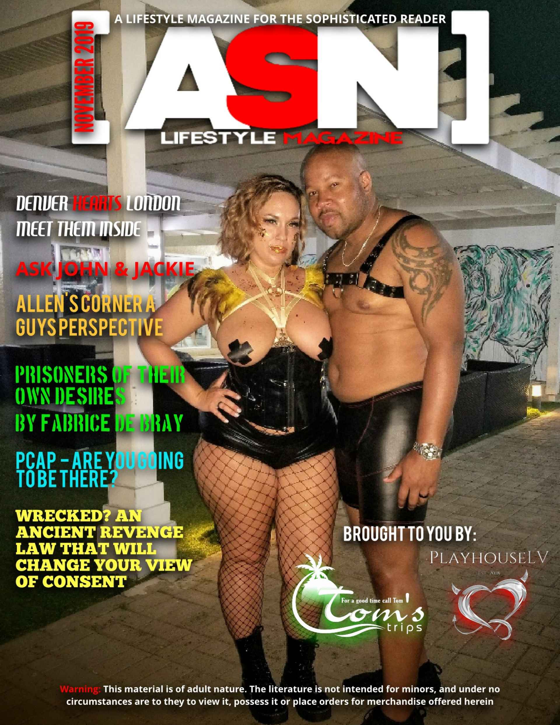 SDC ASN Lifestyle Magazine Swingers Lifestyle Media November 2019