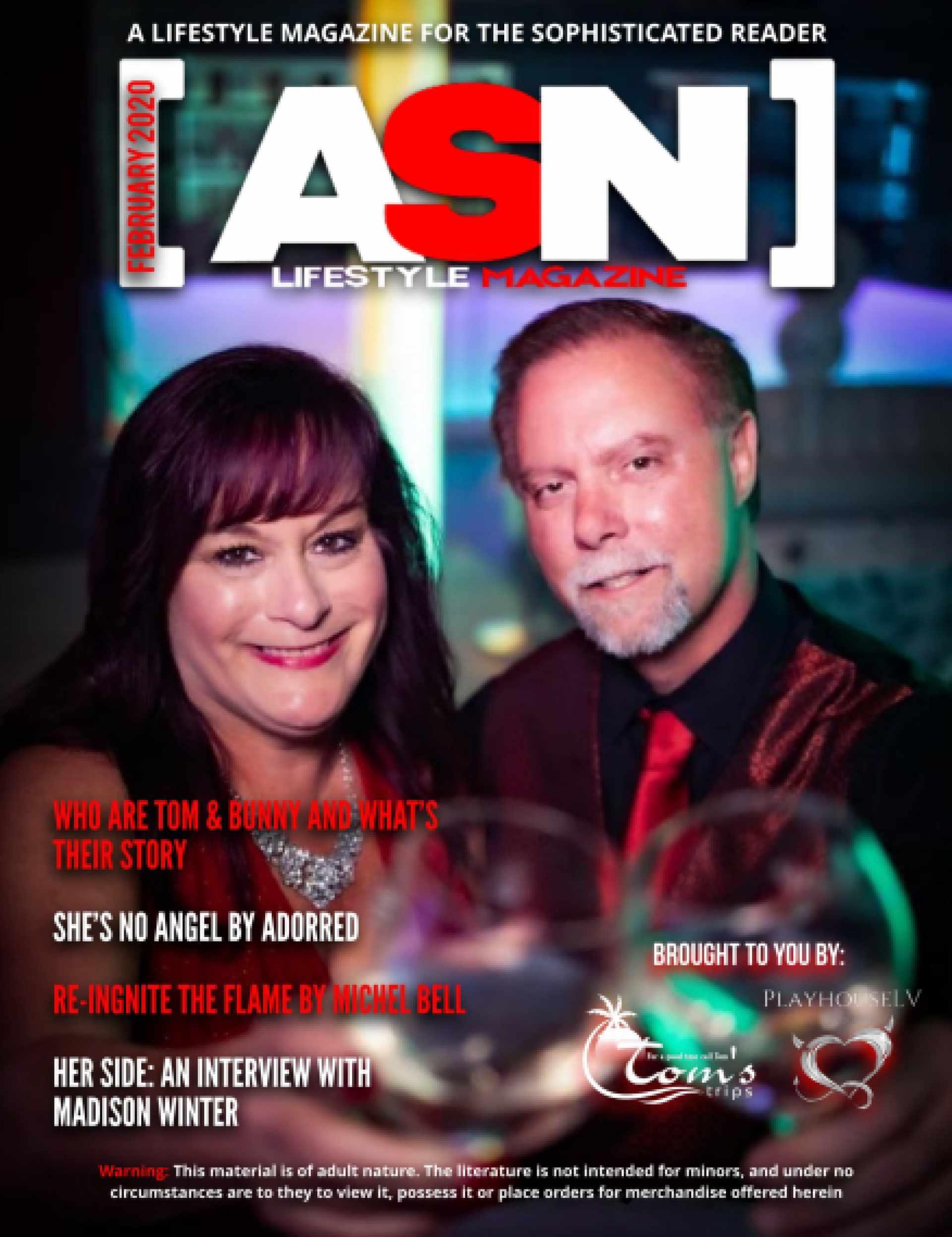 SDC ASN Lifestyle Magazine Swingers Adult Media February 2020