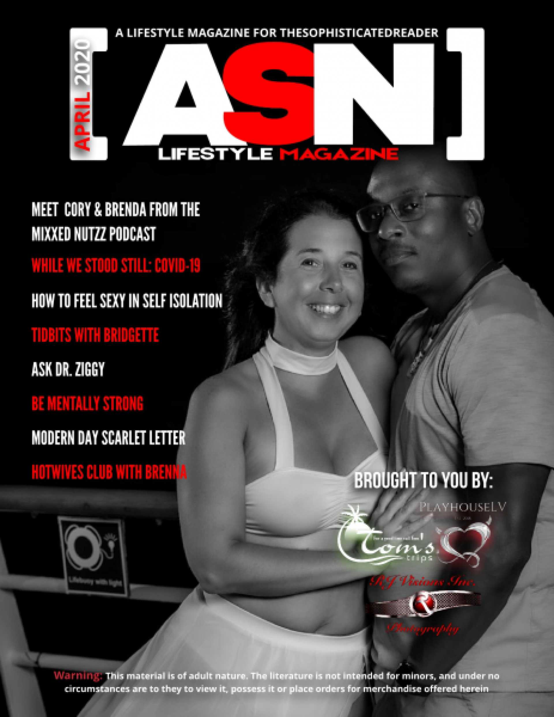 SDC ASN Lifestyle Magazine Adult Swingers Entertainment Media April 2020