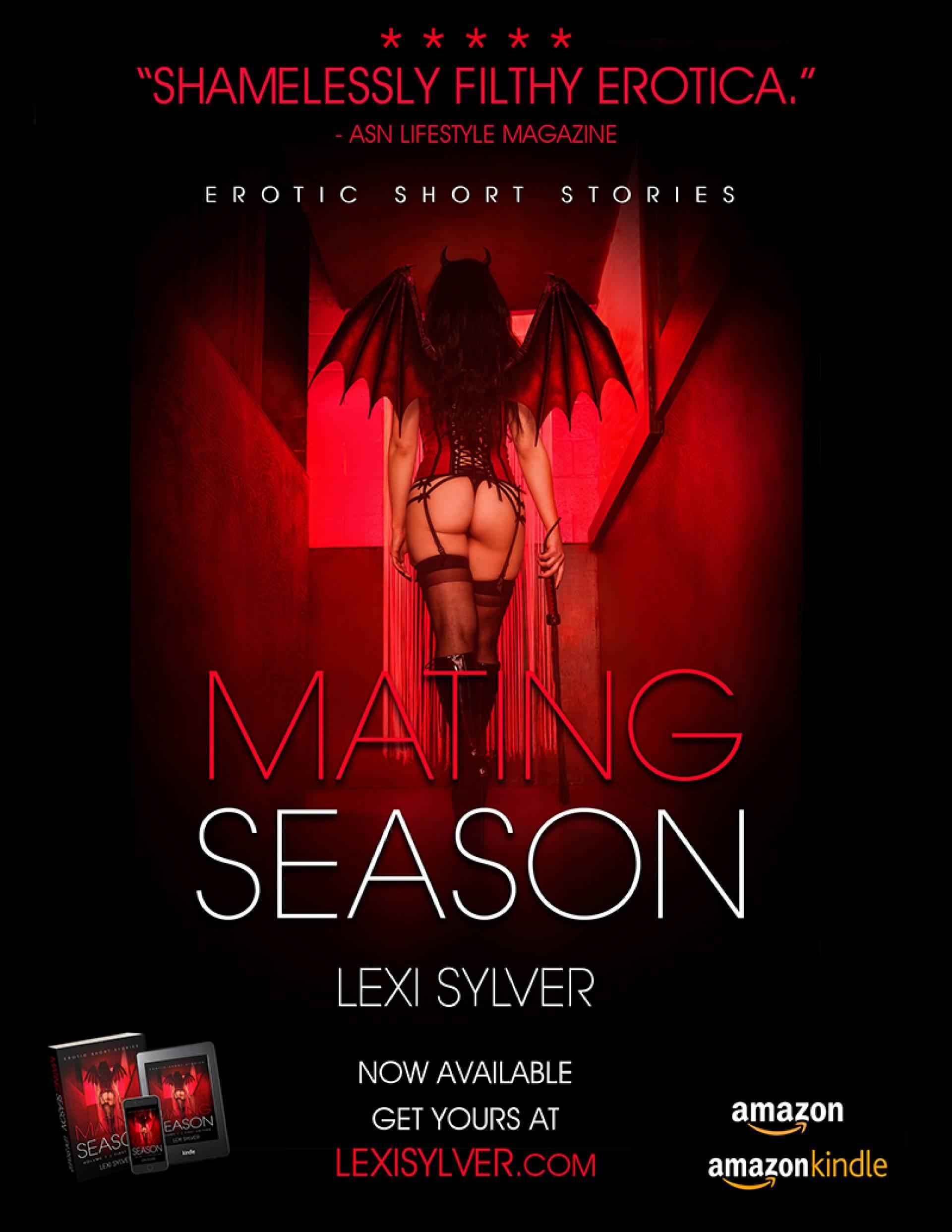 SDC Lexi Sylver Mating Season Erotic Book Cover Photo by Fabrice de Bray