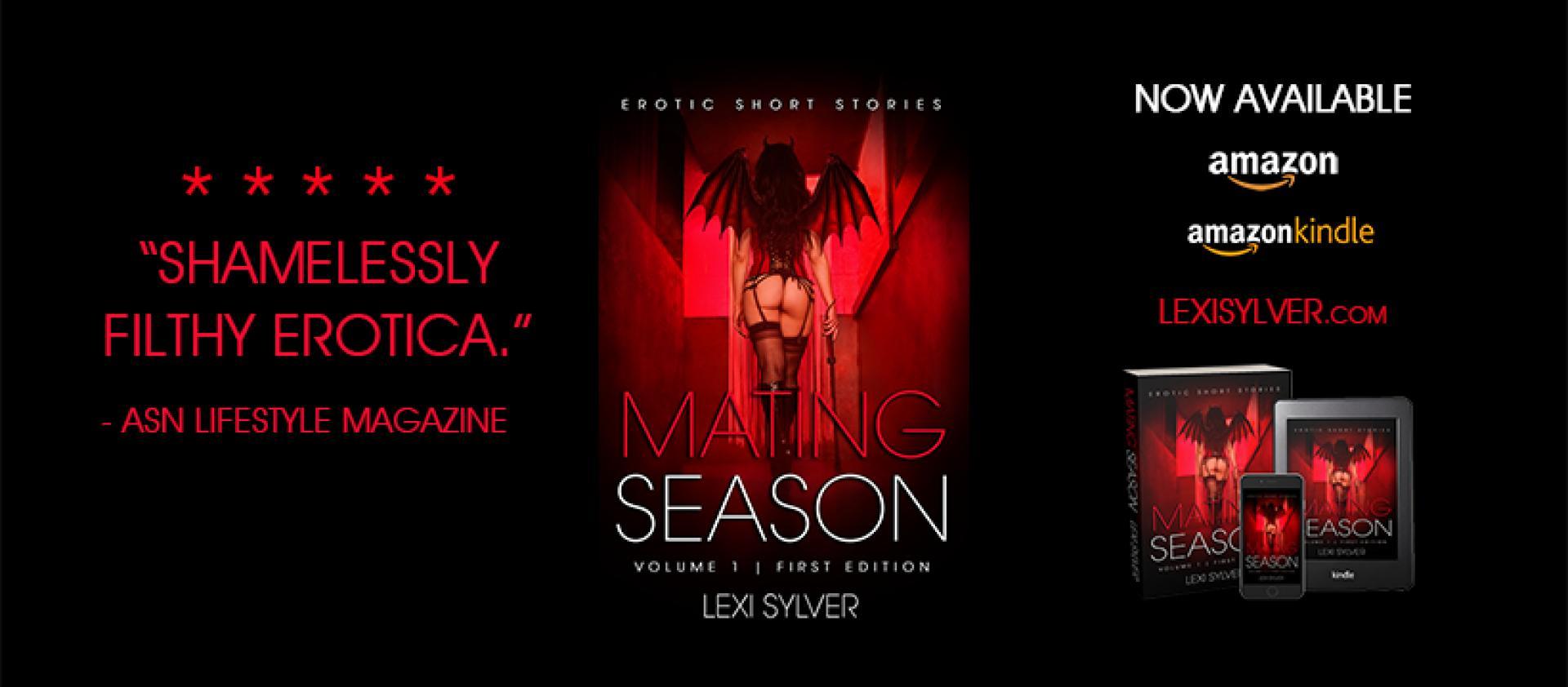 Lexi Sylver Mating Season: Erotic Short Stories