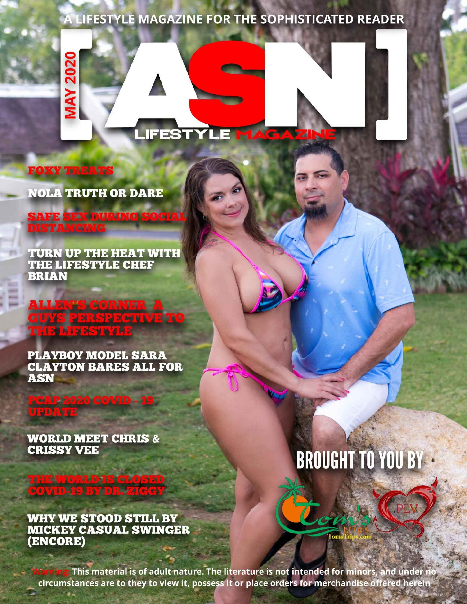 SDC ASN Lifestyle Magazine May 2020 Cover