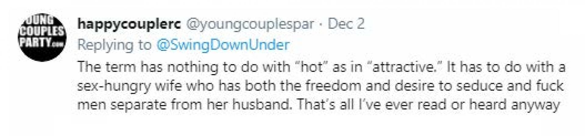 Hotwife tweet 5