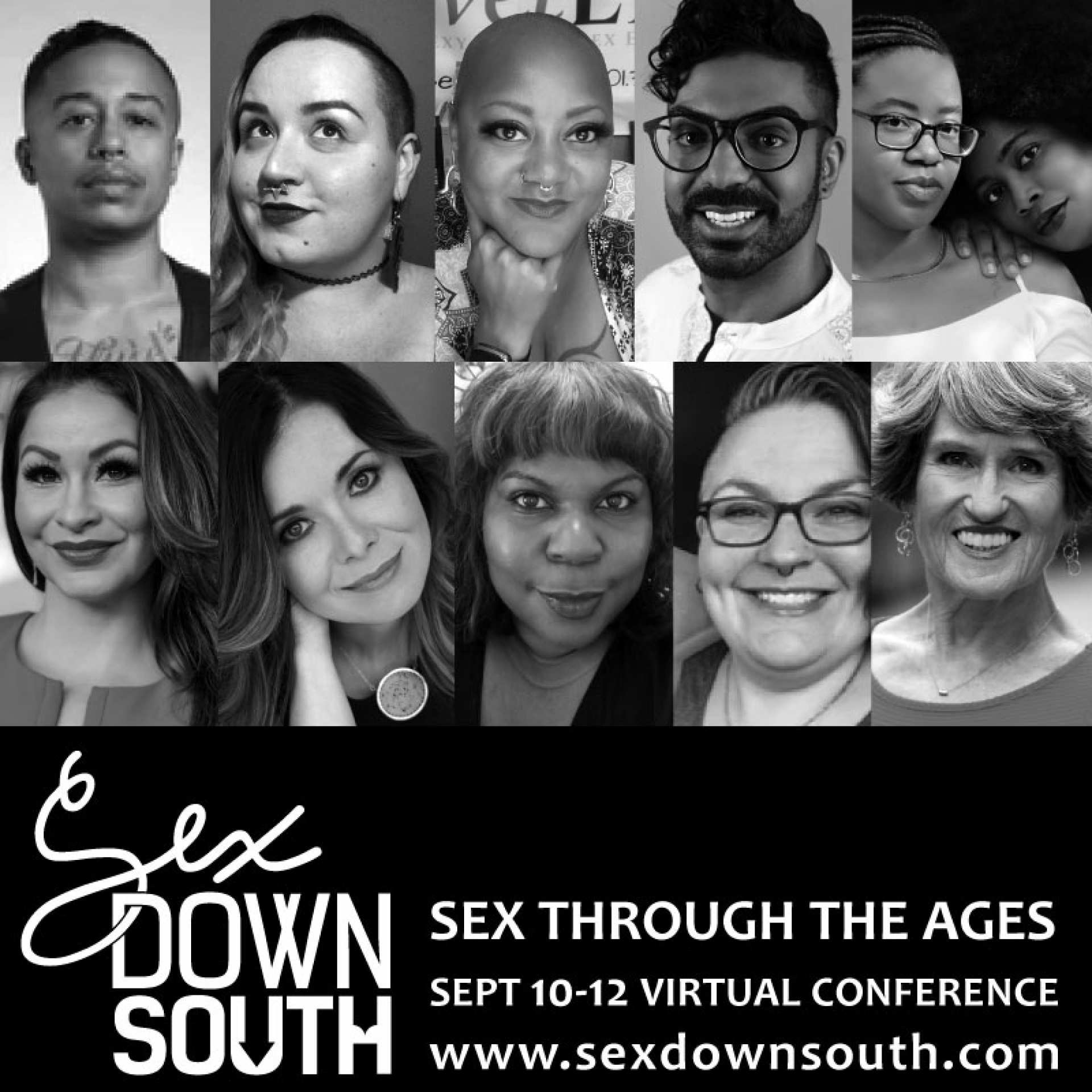 Sex Down South Virtual Con 2020 Celebrities