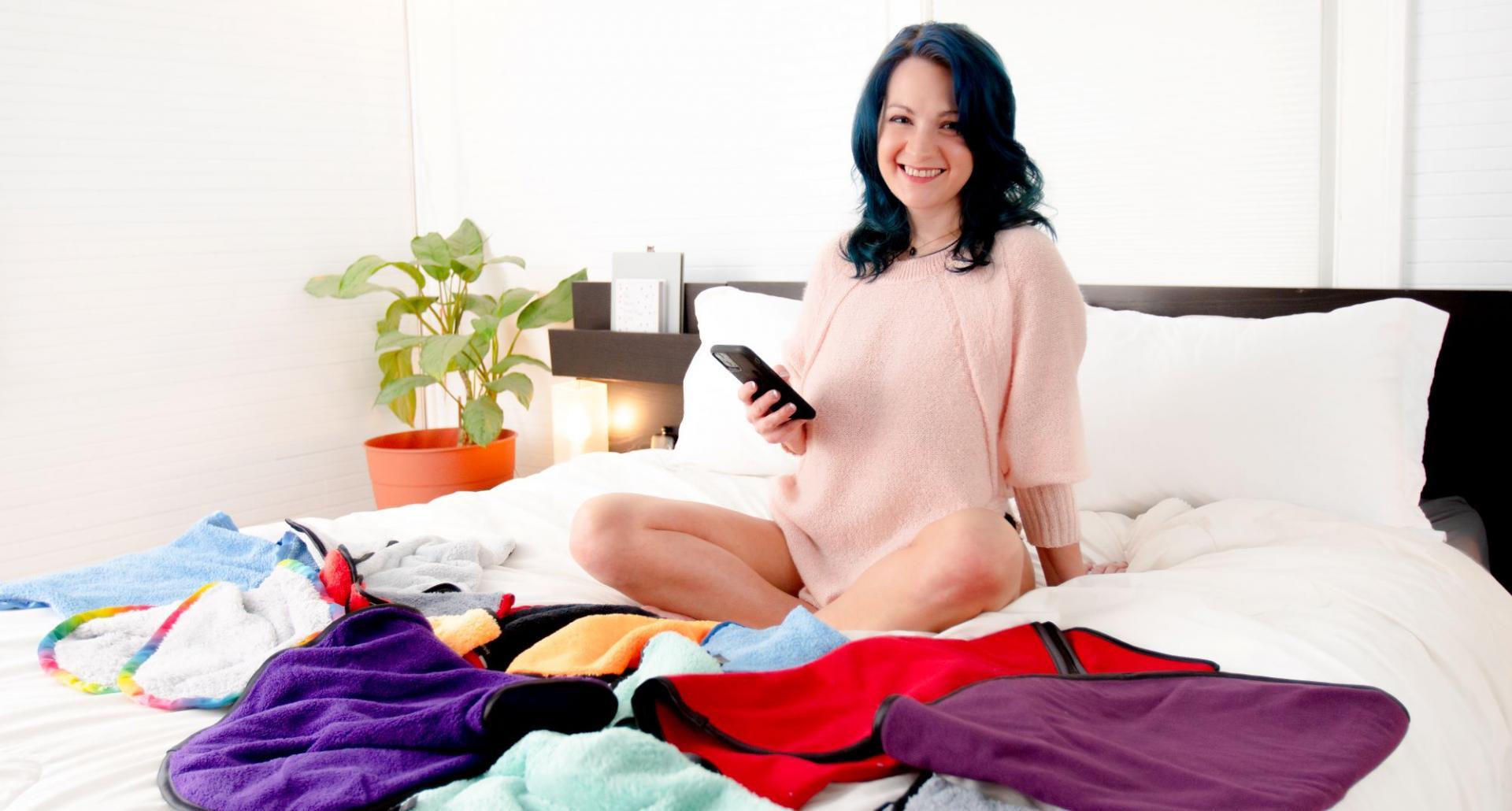 AnnaRae Luxury Sex Towels