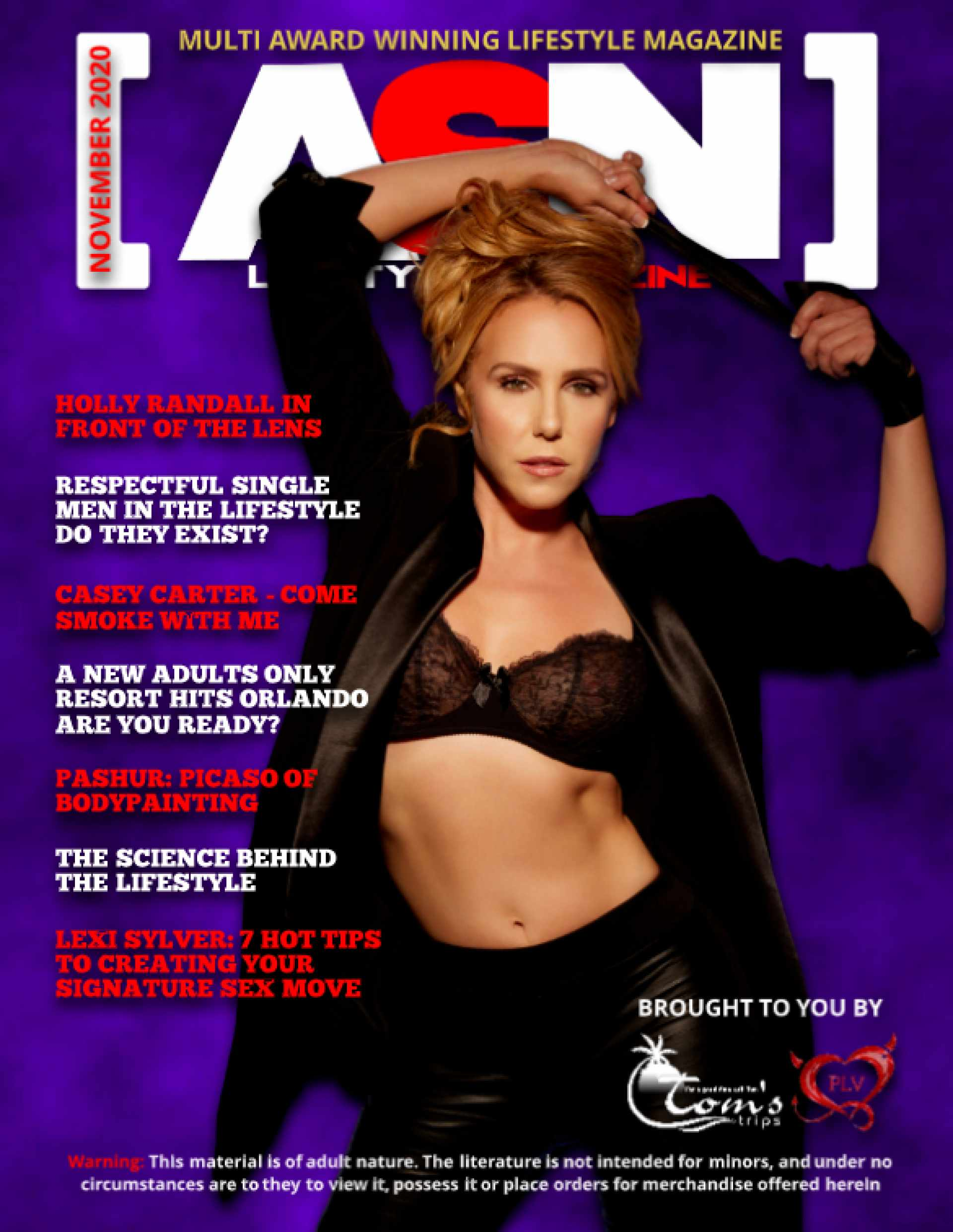 SDC ASN Lifestyle Magazine Nov 2020 Cover