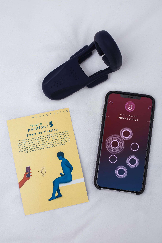 SDC MysteryVibe Tenuto Lifestyle Sex Toy App Playcard