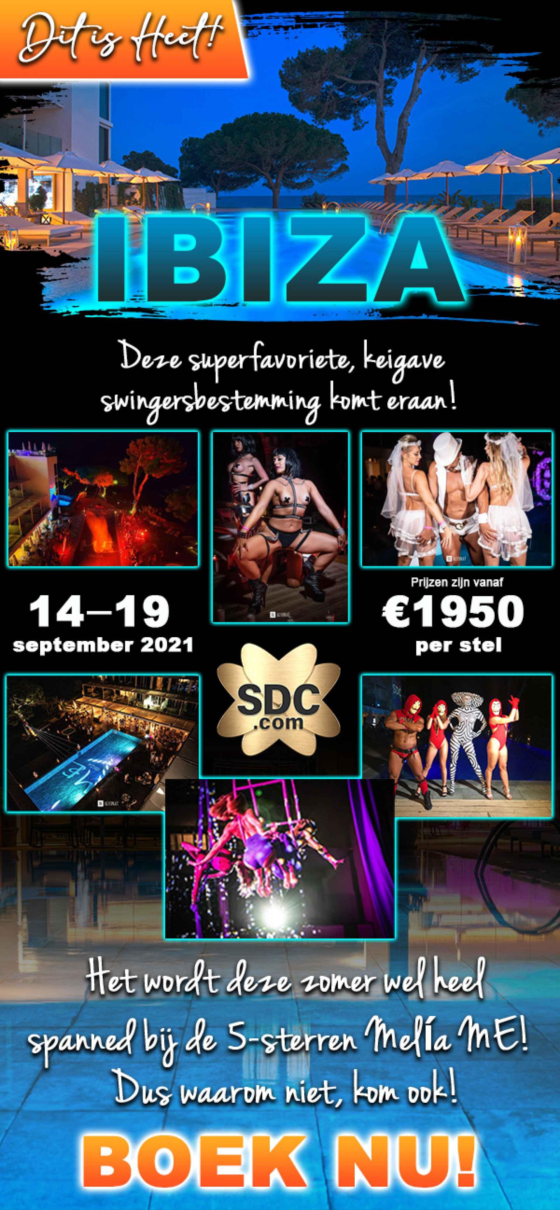 Boek nu uw luxe ontsnapping naar Ibiza, Spanje!