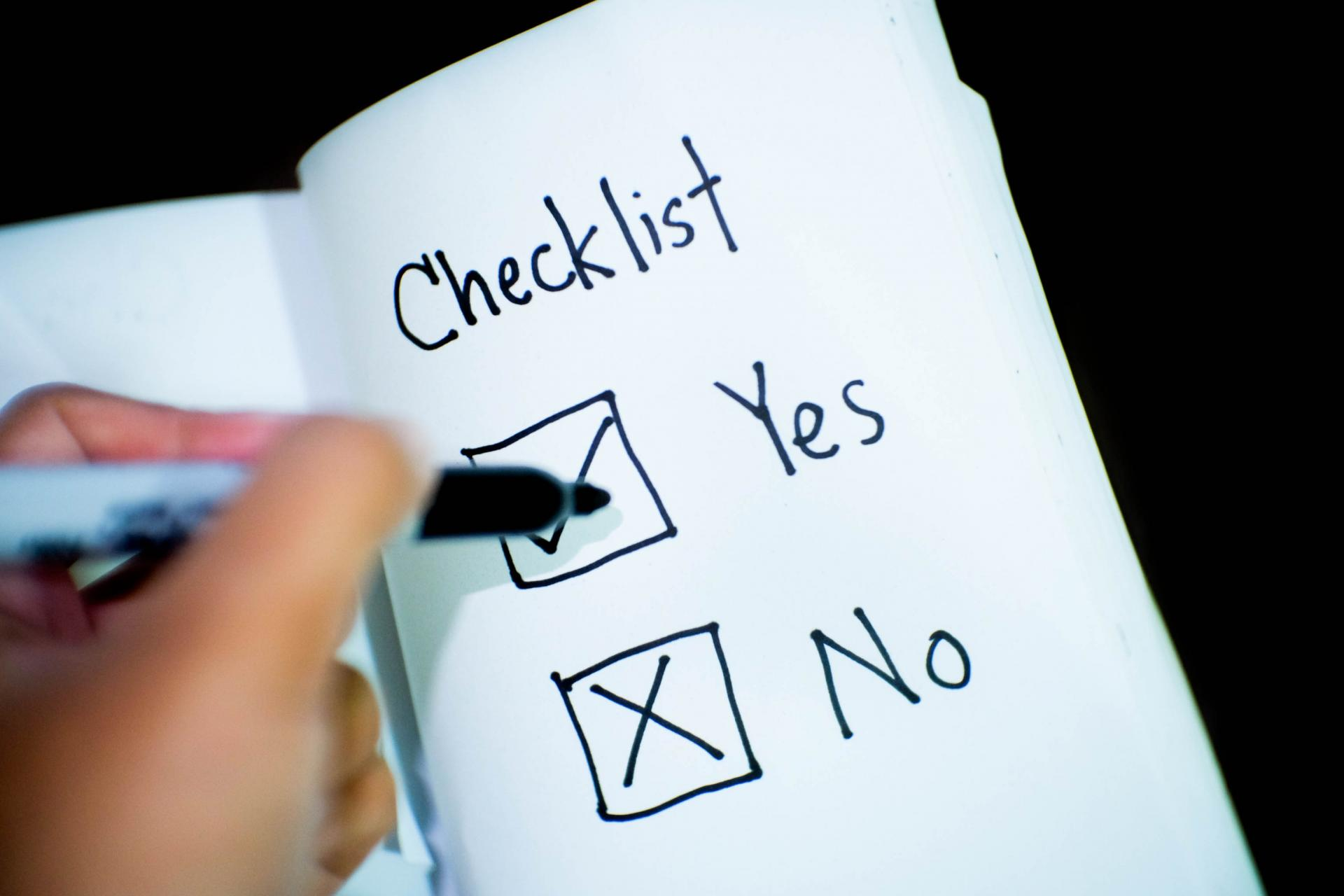 Couples Checklist